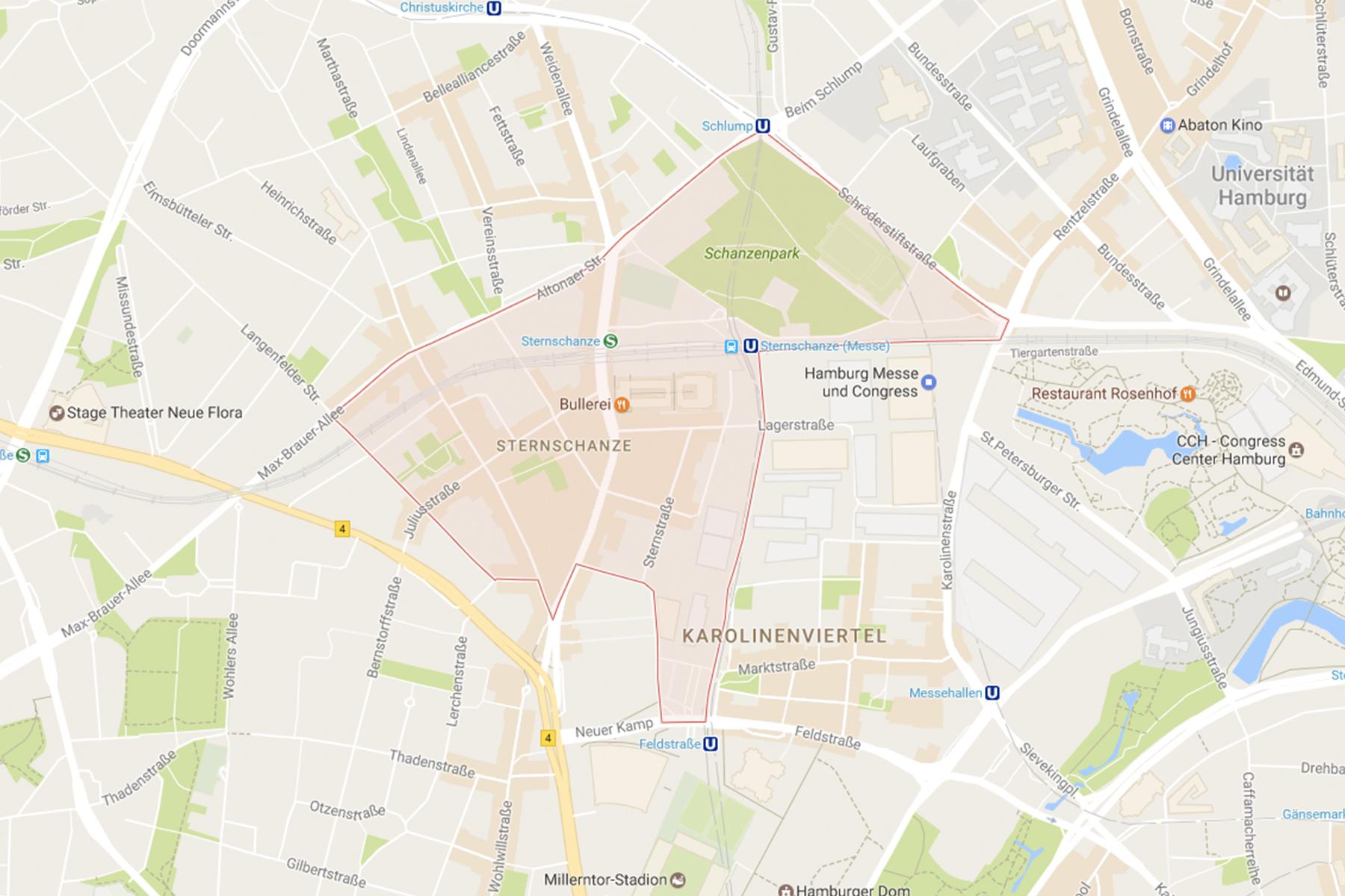 Geheimtipp Hamburg Schanze Legales High Karte 04