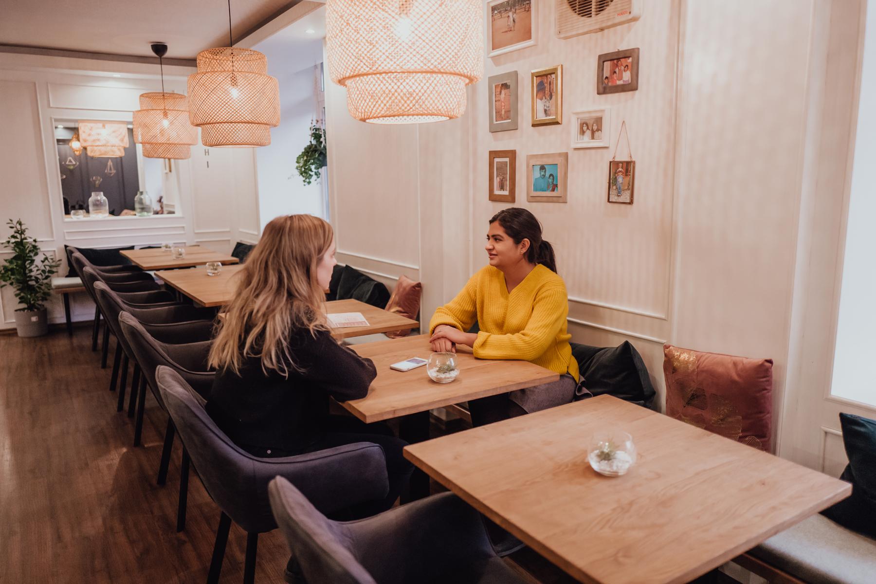 Indisches Restaurant AuthenTikka Inneneinrichtung