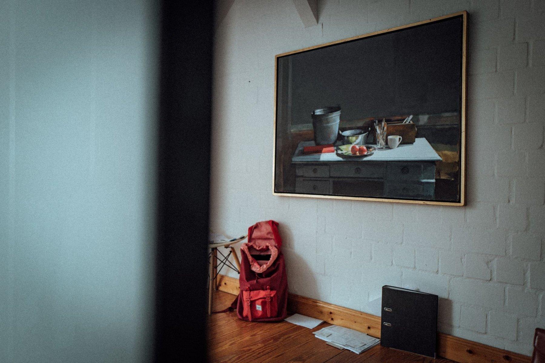 Ein Blick in Pauls Schlafzimmer.
