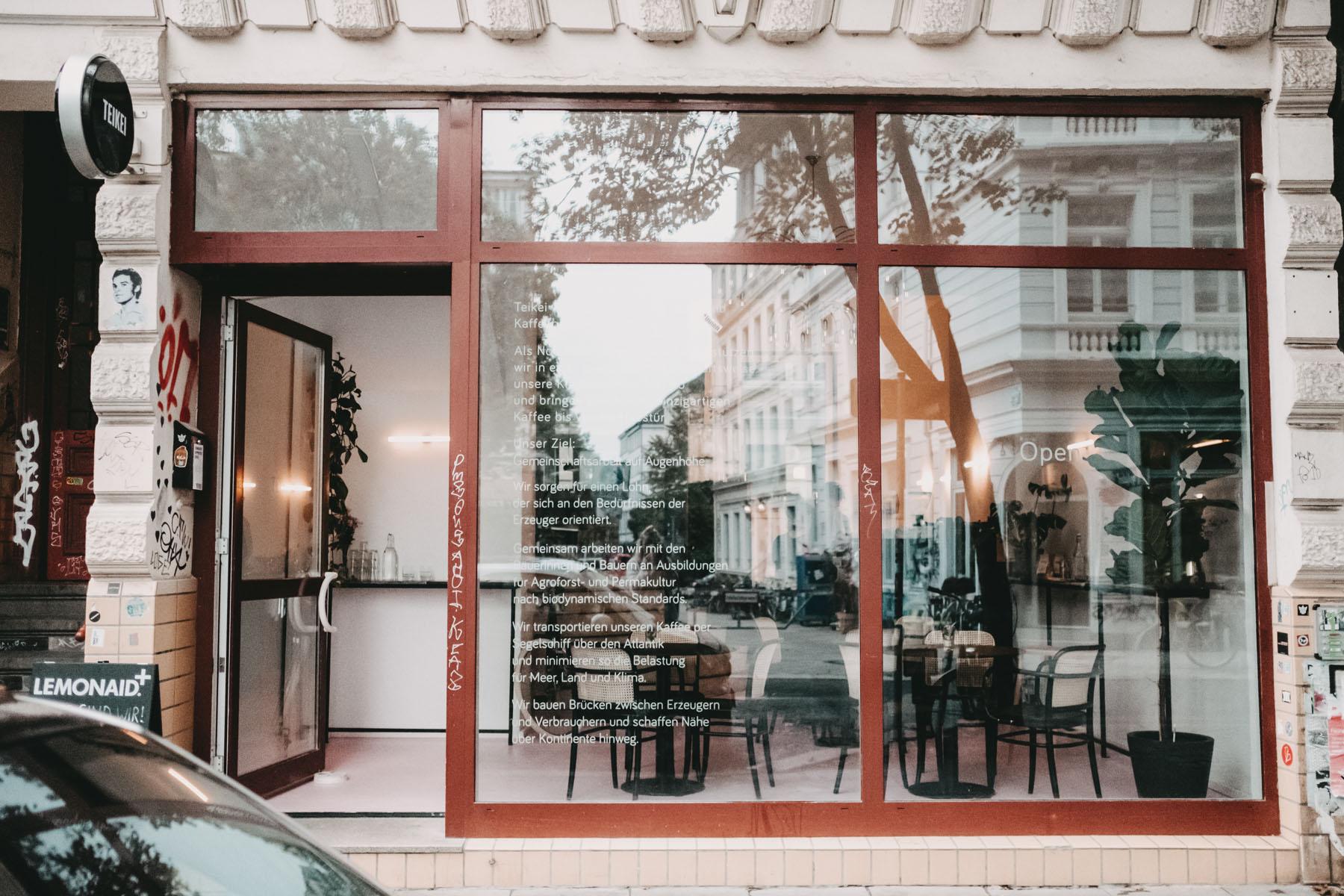 Das ist das Ding: Das TEIKEI Café in der Markstraße!