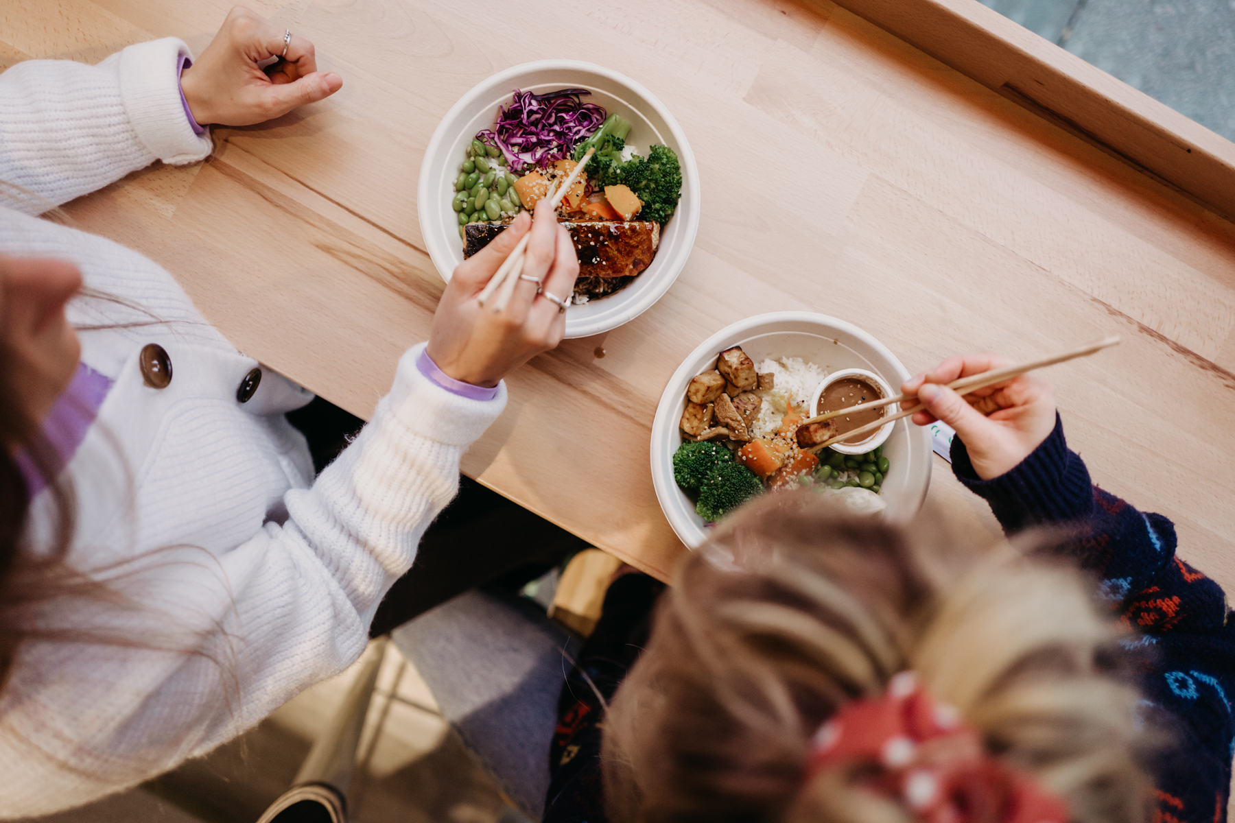 Wir lunchen heute bei BENTO by Nakama!