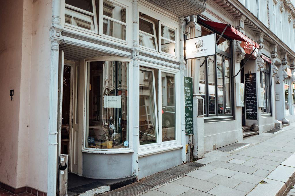 Geheimtipp Hamburg Wexstrasse Restaurant Zum Spaetzle Lisa Knauer