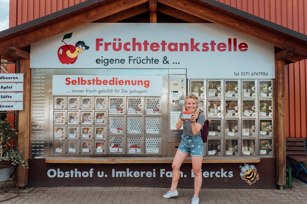 Obsthof Diercks Fruechtetankstelle Altes Land LK