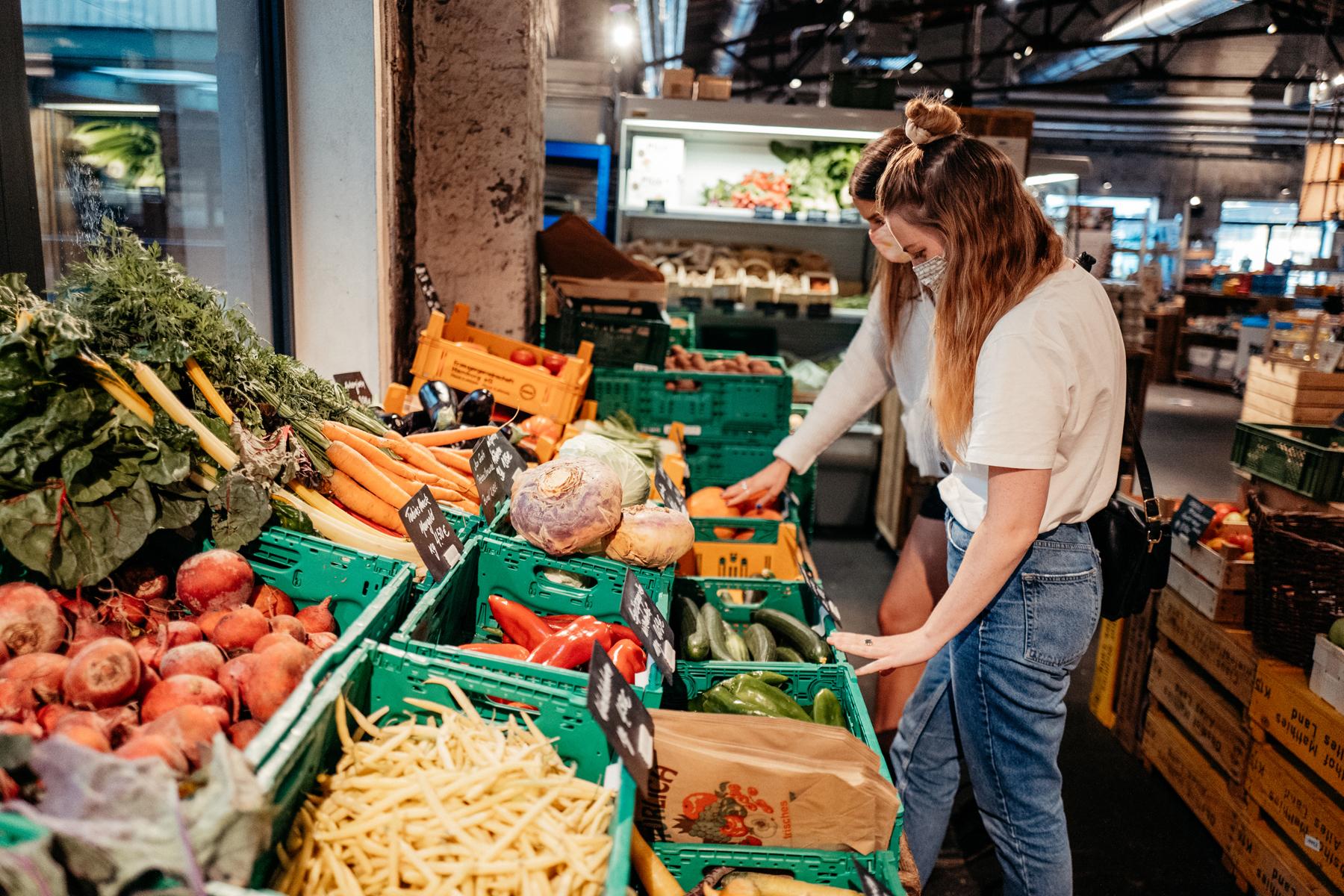 Frisch und regional einkaufen im Hobenköök.