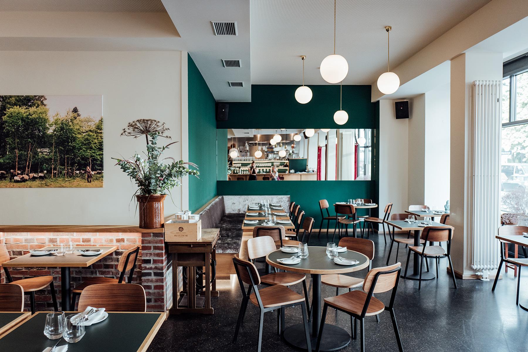 Klinker Restaurant Einrichtung