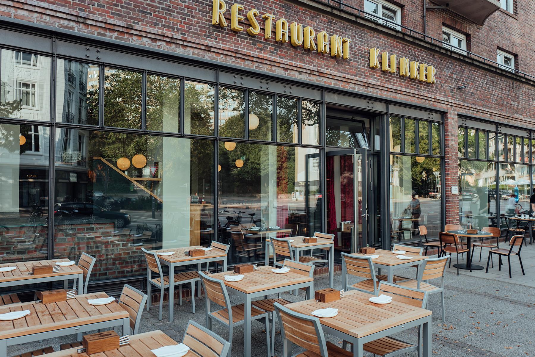 Restaurant Klinker Draußenplätze