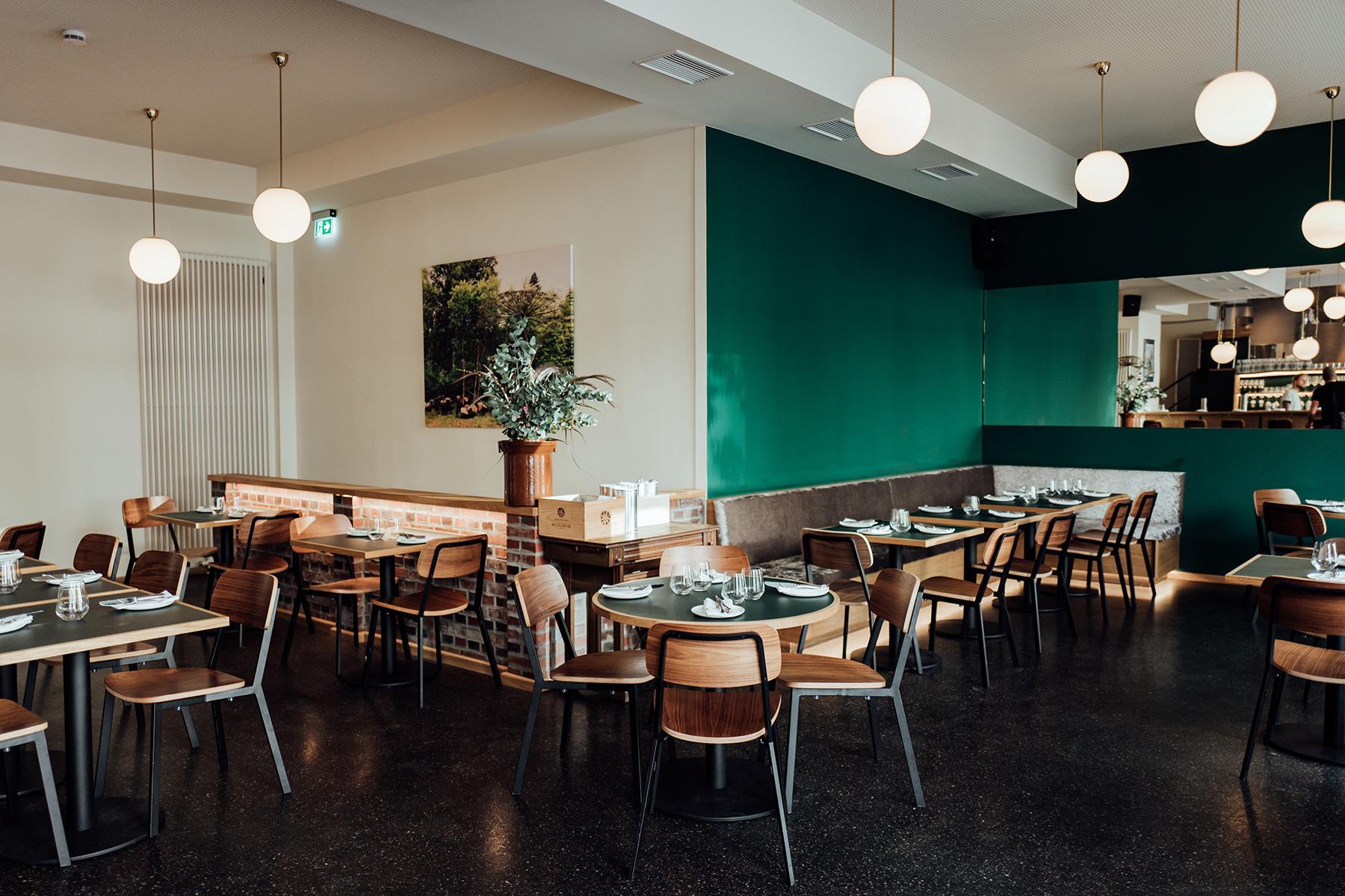 Restaurant Klinker Einrichtung