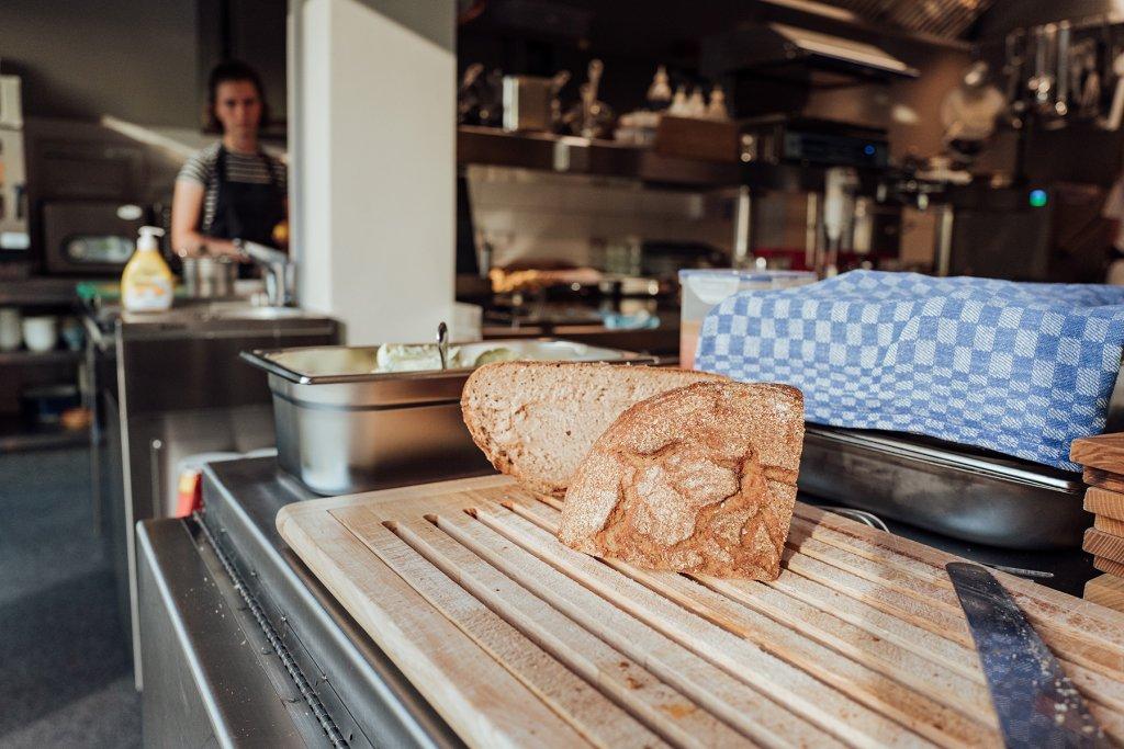 Restaurant Klinker Leckeres Brot
