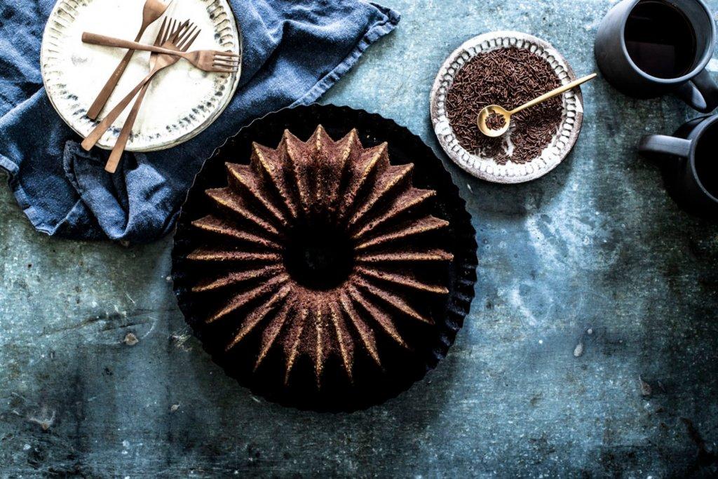 Einfacher und köstlicher Schokoladenkuchen. – ©Saskia van Deelen