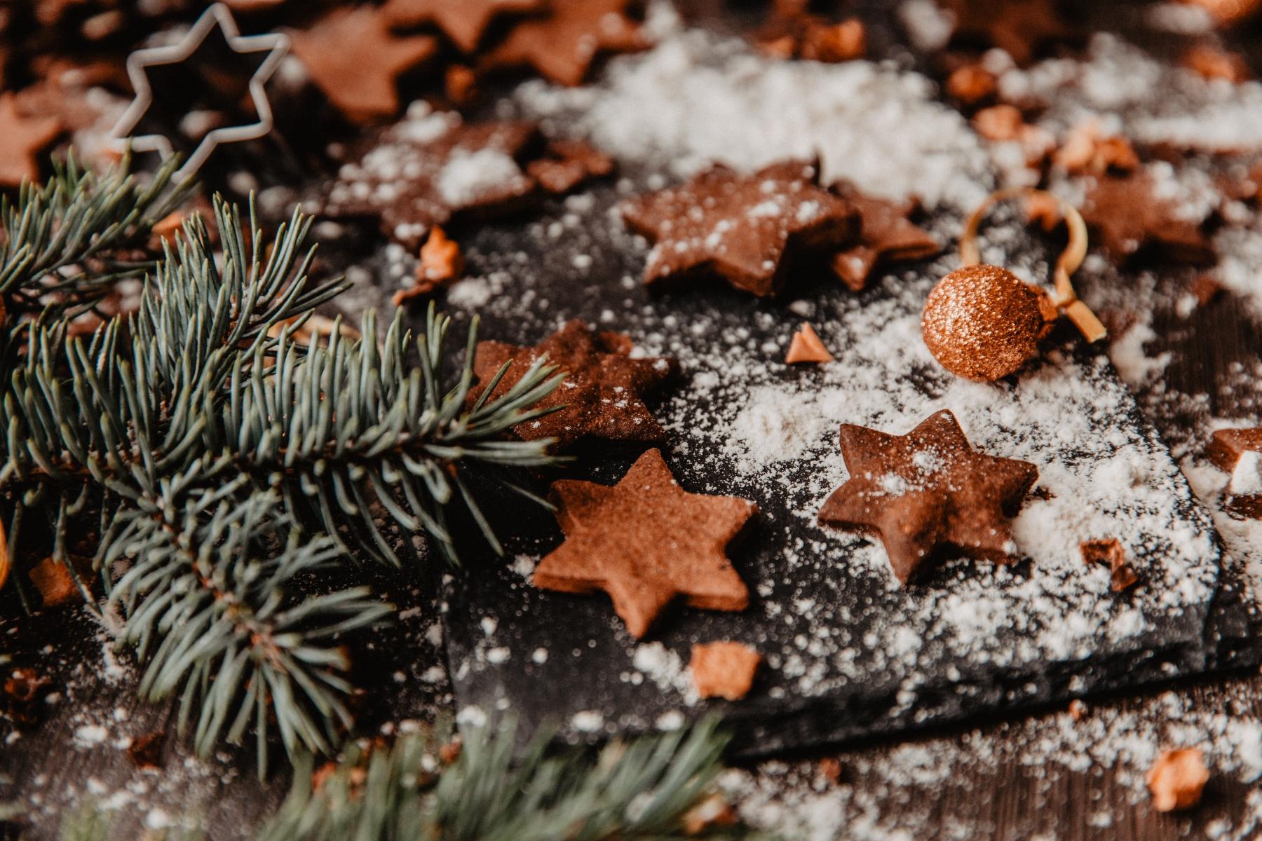 Green Christmas Selbstgebackene Kekse verschenken – ©Unsplash