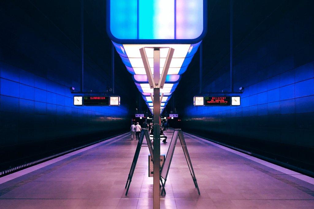 U Bahnhof Elbbrücken Hamburg – ©Unsplash
