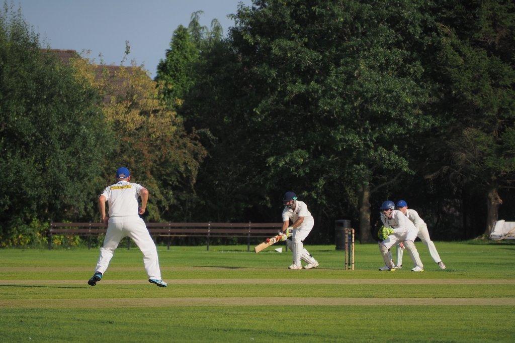 Der Sport Cricket in Indien