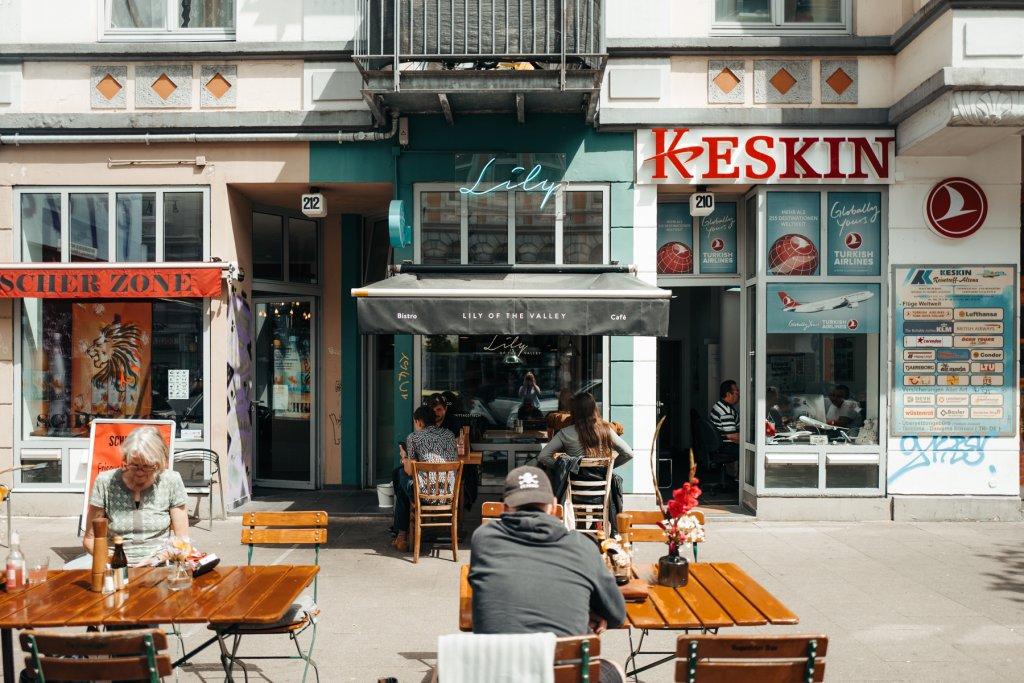 Geheimtipp Hamburg Ottensen Restaurant Lily of the Valley Dahlina Sophie Kock 01