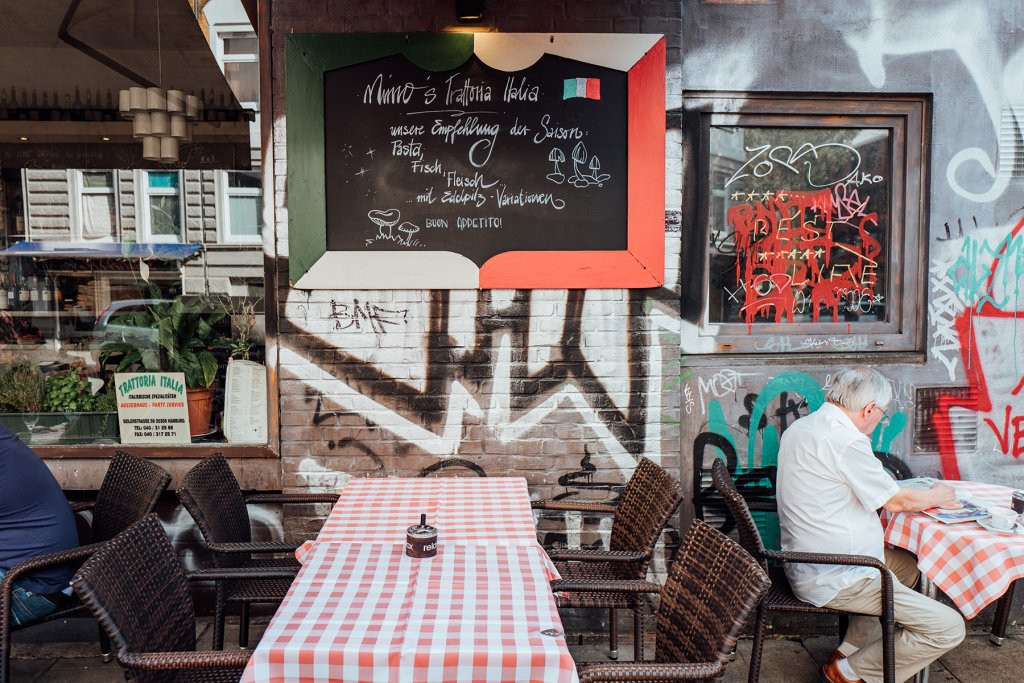 Geheimtipp Hamburg Restaurant Italiener Trattoria Italia 6