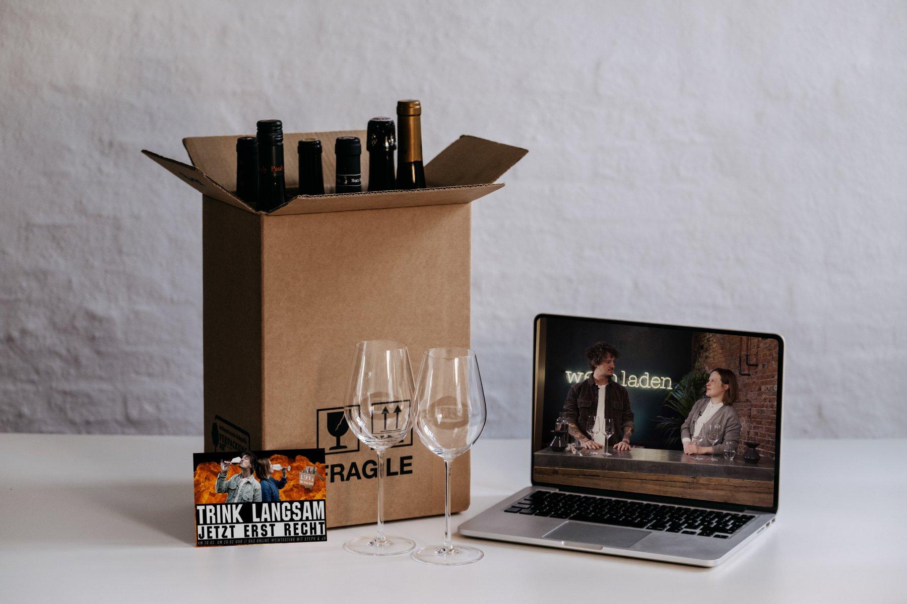 Geheimtipp Hamburg Weintasting TRINK LANGSAM jetzt erst recht Jo und Steph Dahlina Sophie Kock 003a