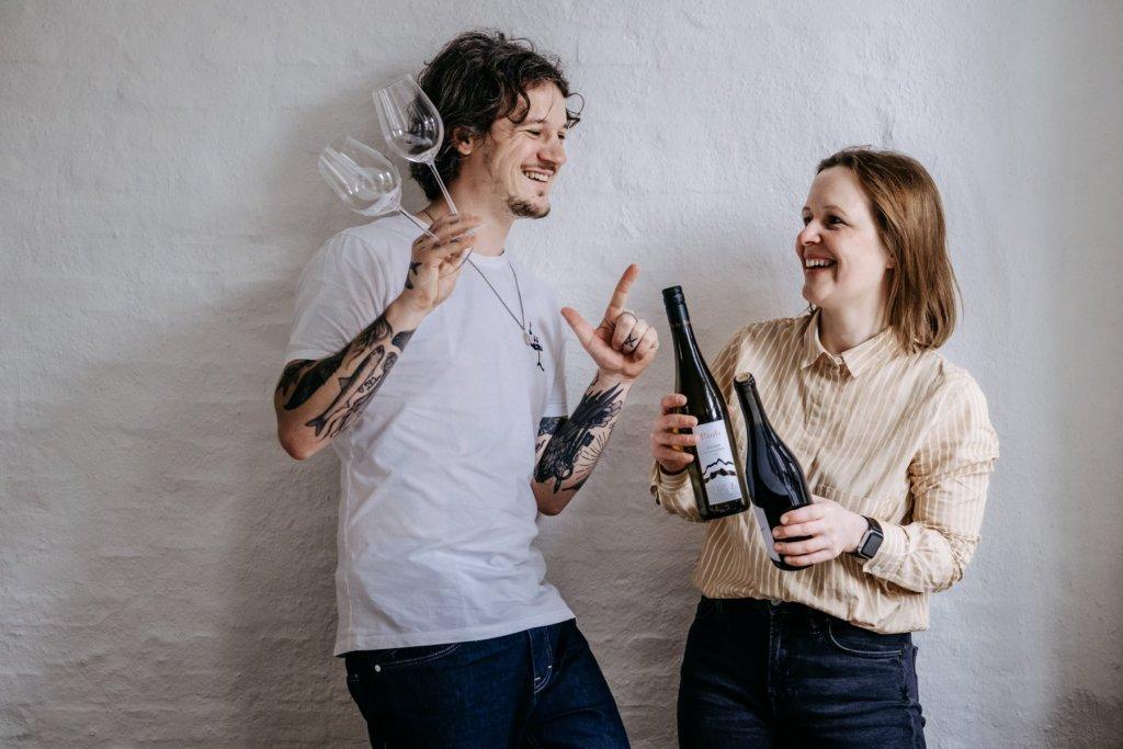 Geheimtipp Hamburg Weintasting TRINK LANGSAM jetzt erst recht Jo und Steph Dahlina Sophie Kock 026