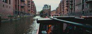 Hafenrundfahrt Blick auf die Hamburger Speicherstadt