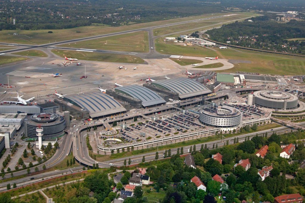 Hamburg Airport Vogelperspektive – ©Michael Penner / Hamburg Airport