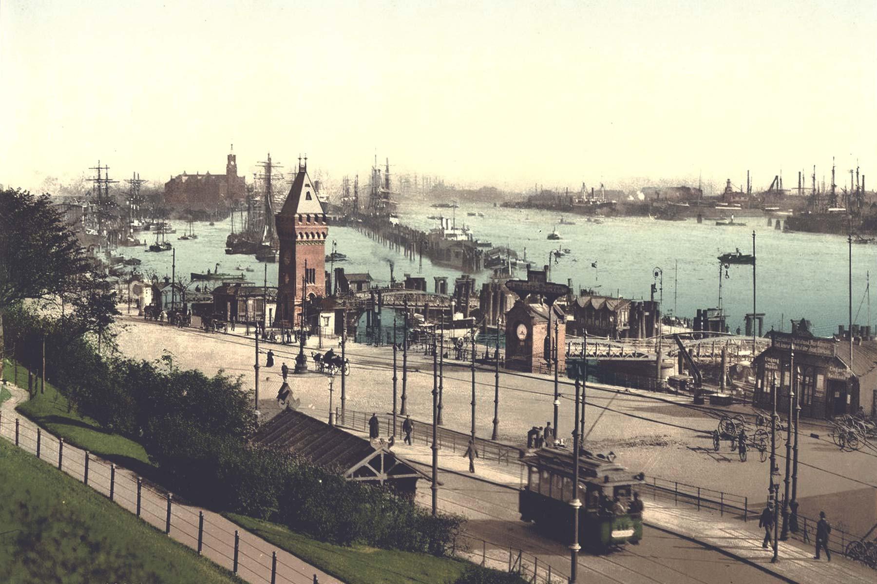 Geheimtipp Hamburg Hamburg vor 100 Jahren Homtown History Geo Epoche Library of Congress 11