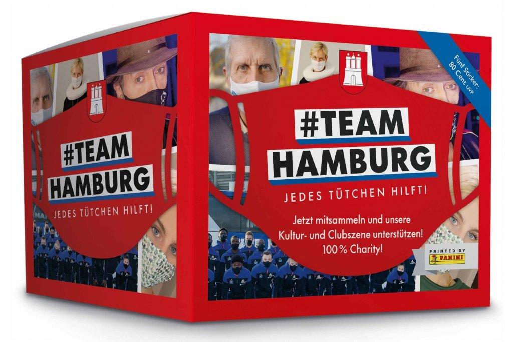 Geheimtipp Hamburg Kultur Unterstützung Panini Sammelalbum Team Hamburg (1) – ©#TeamHamburg, Panini