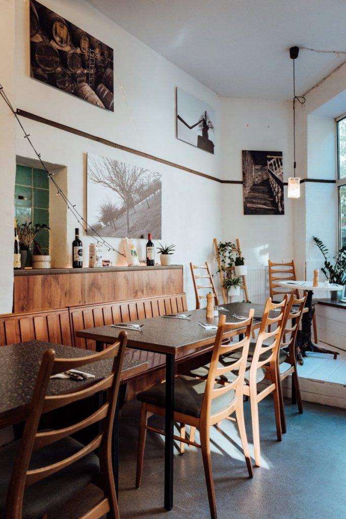 Restaurant La Crème de la Crêpe Inneneinrichtung