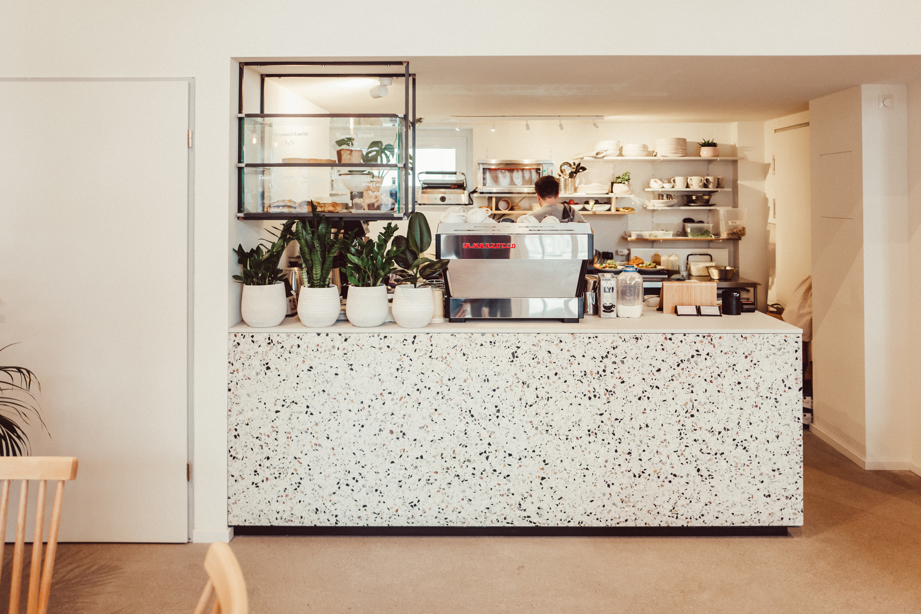 Marshall Street Coffee Inneneinrichtung
