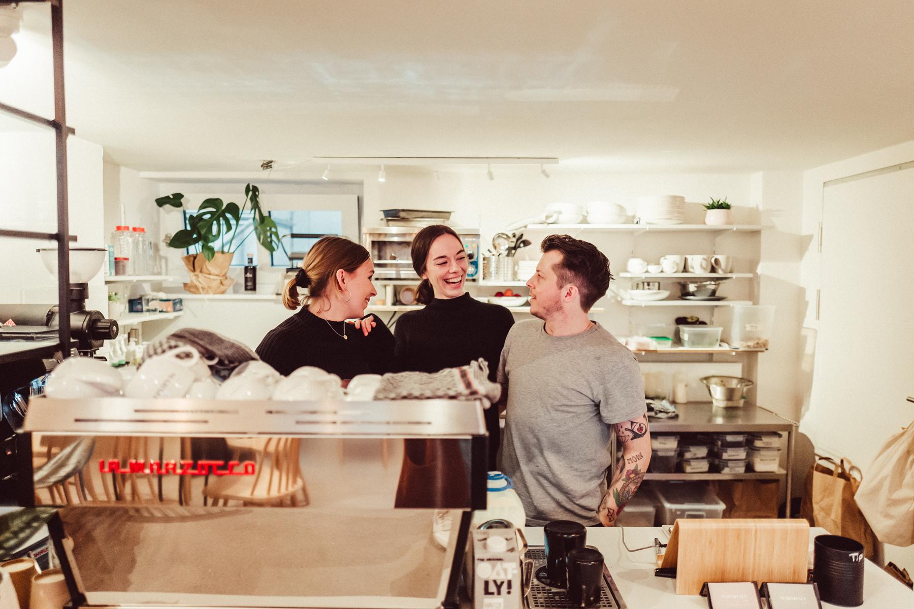 Marshall Street Coffee Das Team