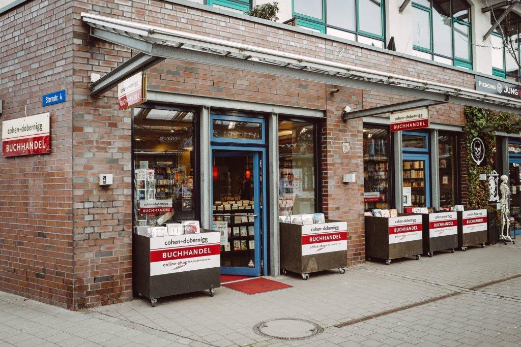 Wenn ihr in der Schanze unterwegs seid, ist dieser Buchladen ein Muss!