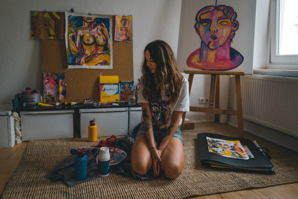 Sabela und ihre Kunst