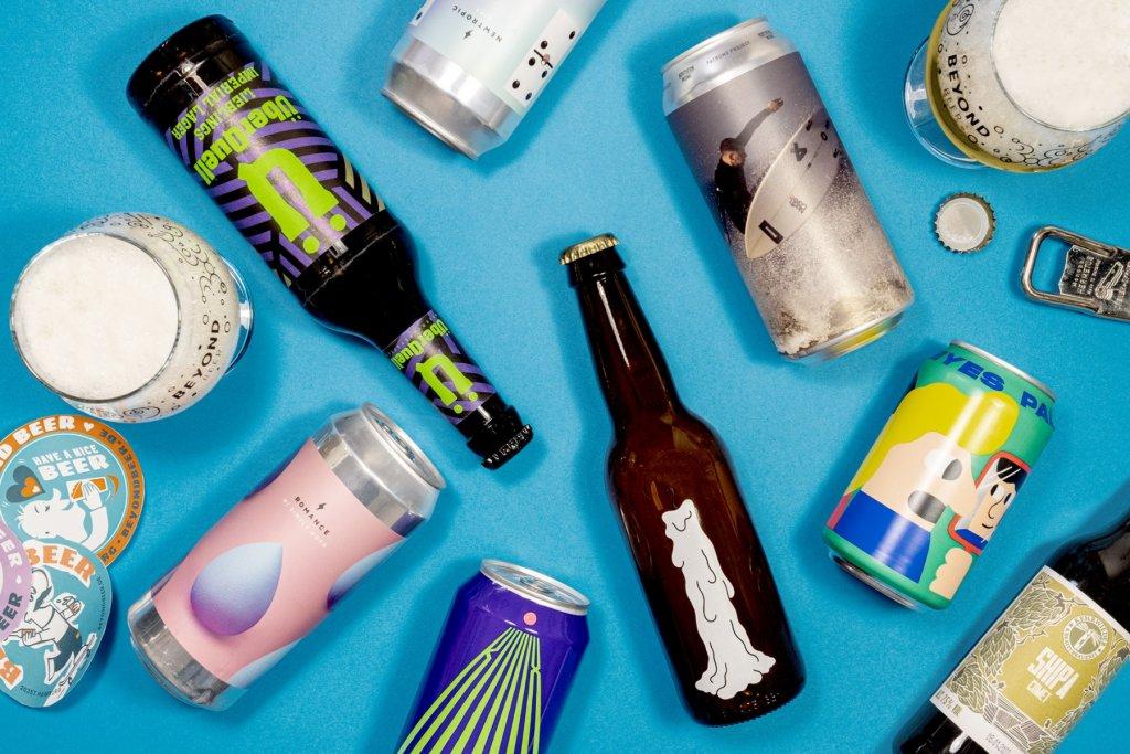 Die Flaschen und Dosen beinhalten nicht nur köstliches Bier, sondern sehen auch noch super cool aus.  – ©Beyond Beer