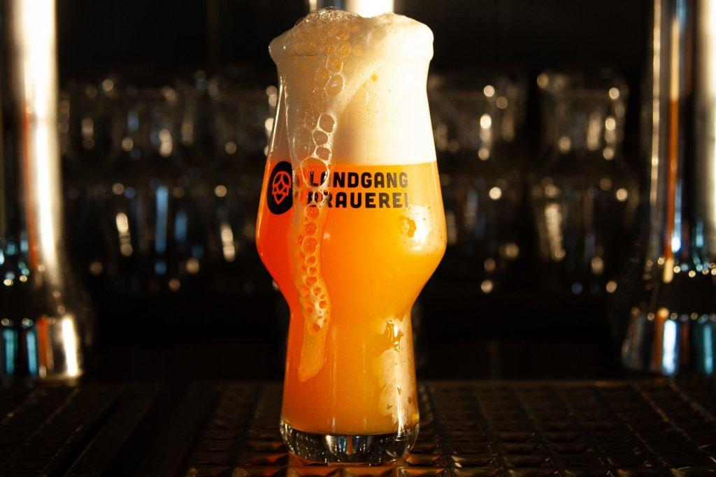 Frisch gezapft aus der Landgang Brauerei. – ©Landgang Brauerei