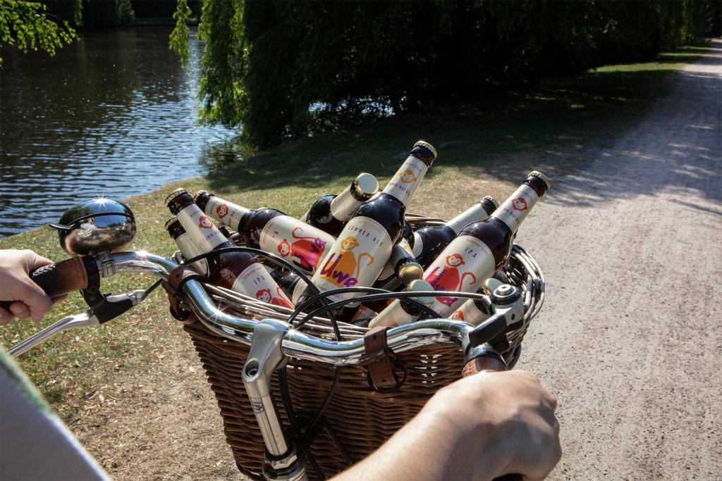 Ladet euch euren Fahrradkorb voll und los geht's. – ©Uwe