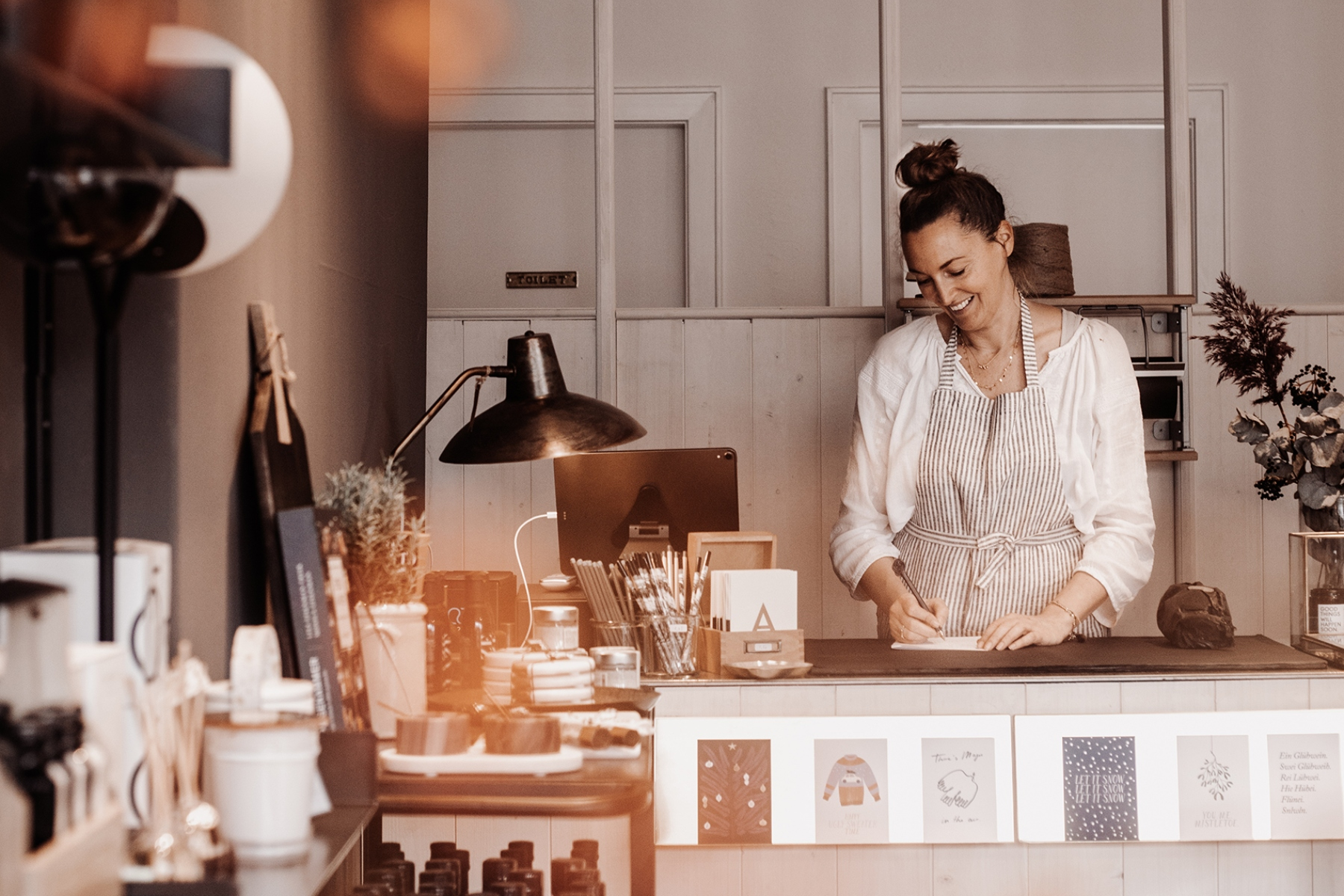 Neben Kaffee findet ihr hier auch ganz viele andere schöne Kleinigkeiten für das eigene Interieur oder zum Verschenken.