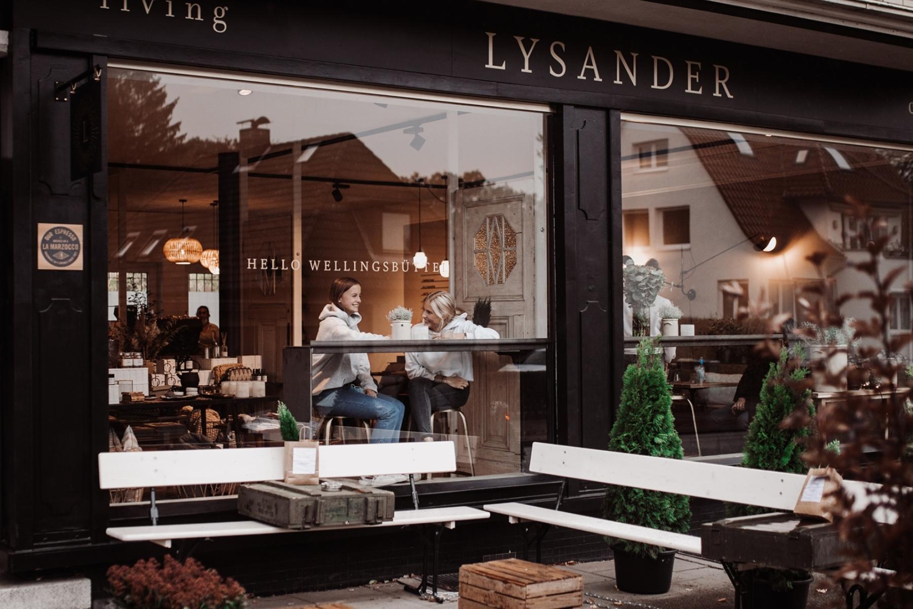 Willkommen beim Lysander – der Café Perle von Wellingsbüttel.