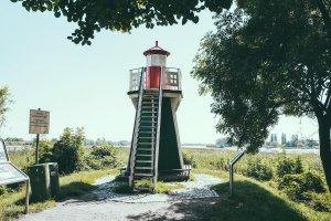 Ein Highlight ist der kleine Leuchtturm.