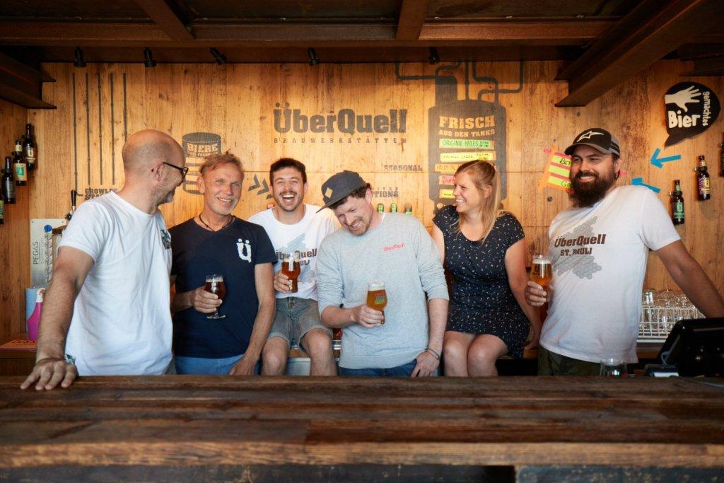 ÜberQuell Brauerei Hamburg Team – ©ÜberQuell