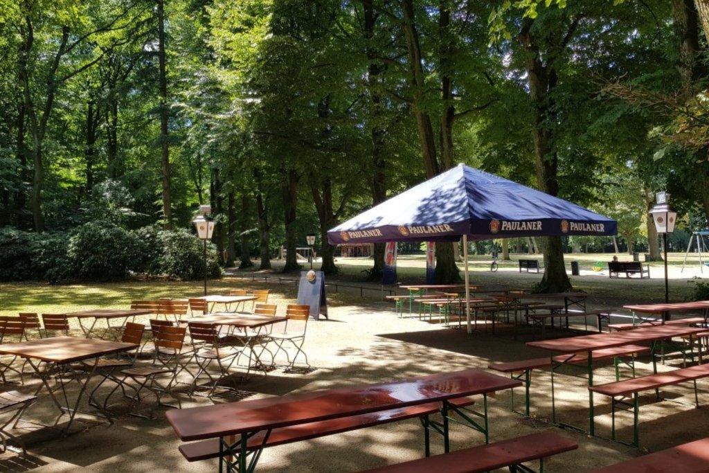 Mitten im Altonaer Volkspark – ©Klempau's Biergarten