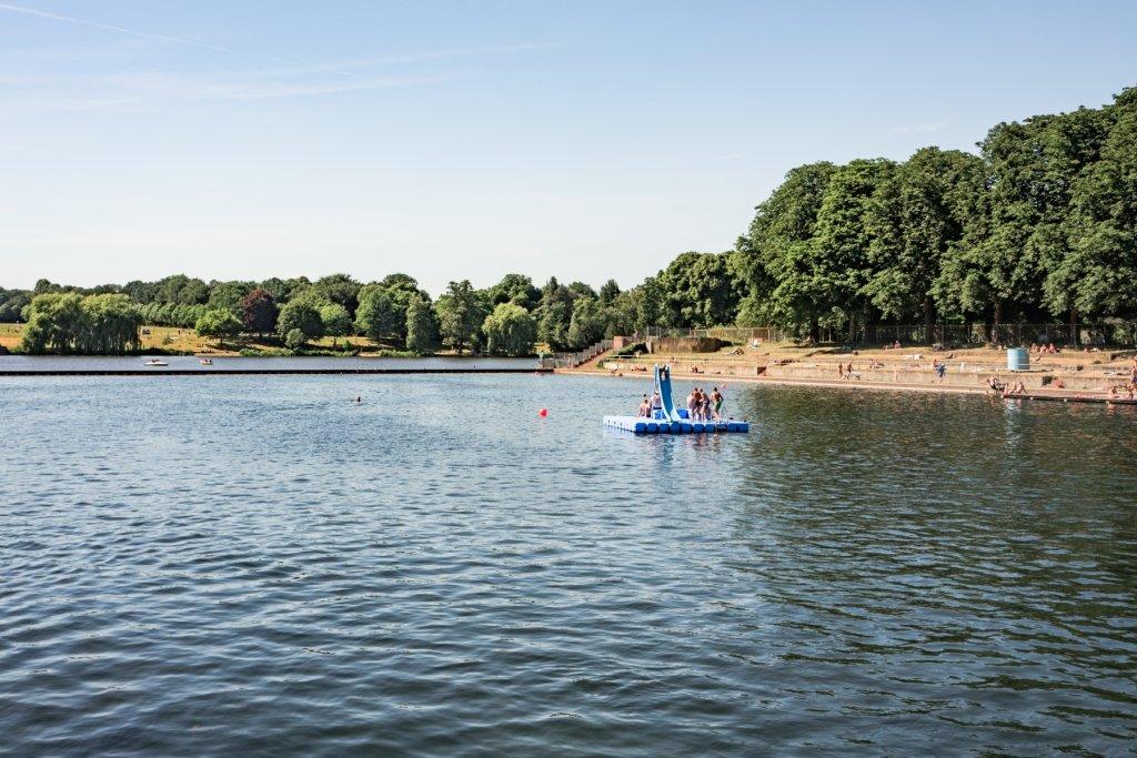 Ein Hoch auf unseren Stadtparksee!