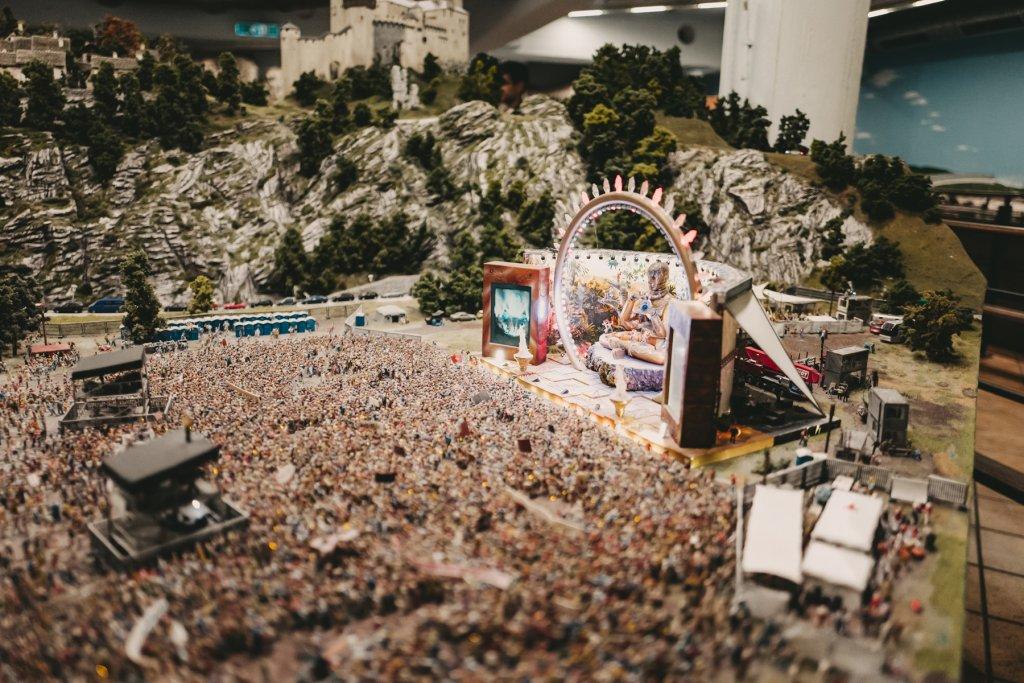 269.000 Figuren finden im Miniatur Wunderland Platz.