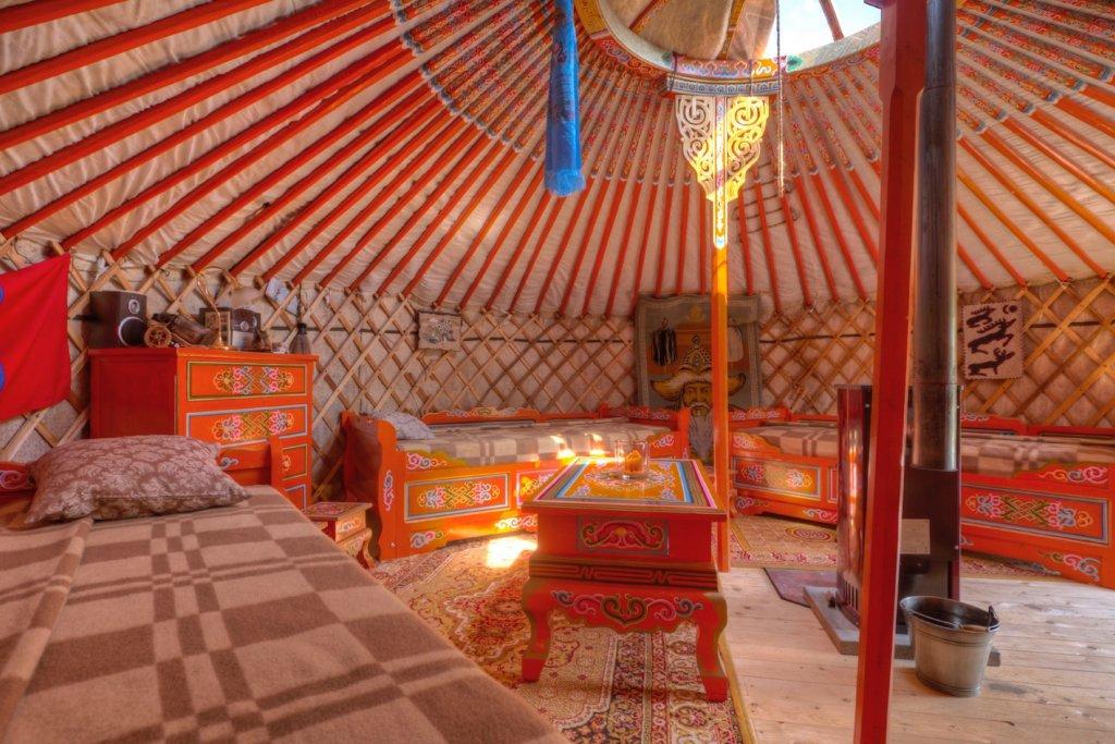 Geheimtipp Hamburg Außergewöhnliche Übernachtungen mongolische Jurte Altes Land 21 – ©Altländer Jurte