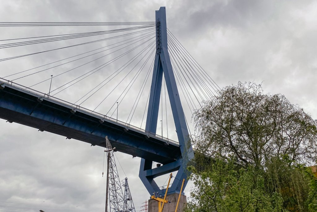 Geheimtipp Hamburg Besondere Brücken Guide Köhlbrandbrücke Elbe 03