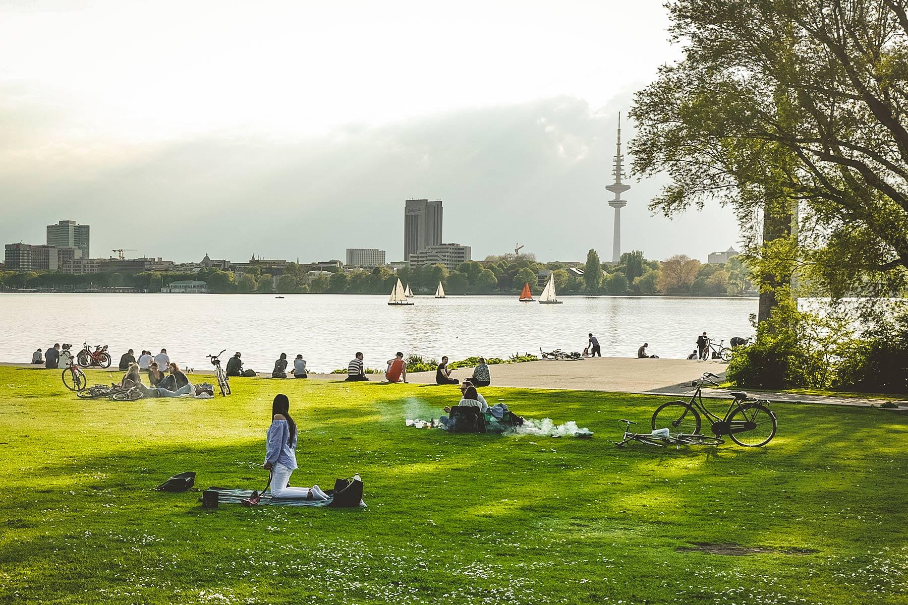 Geheimtipp Hamburg Stadt & Leute Lieblingsplätze Angrillen Grillwiesen Hamburg Mai 11
