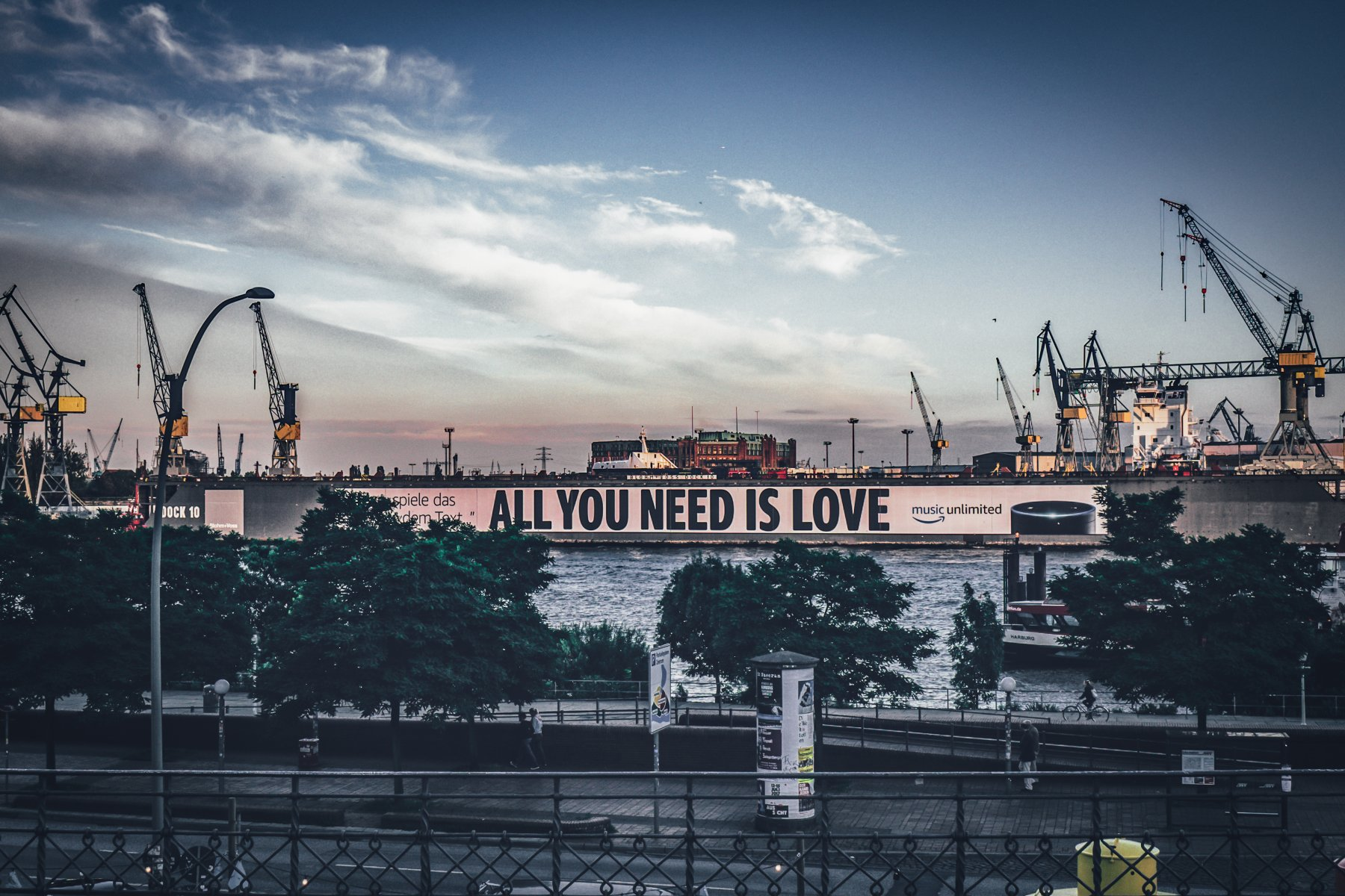 All you need is Hamburg!