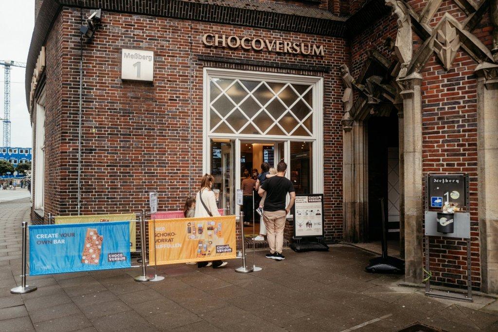 Willkommen im Chocoversum, dem Schokoladen Museum von Hachez.