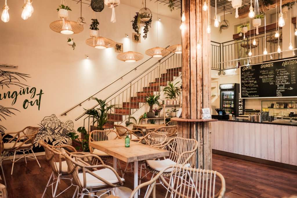 Im Hanging Out Café könnt ihr so richtig abhängen.