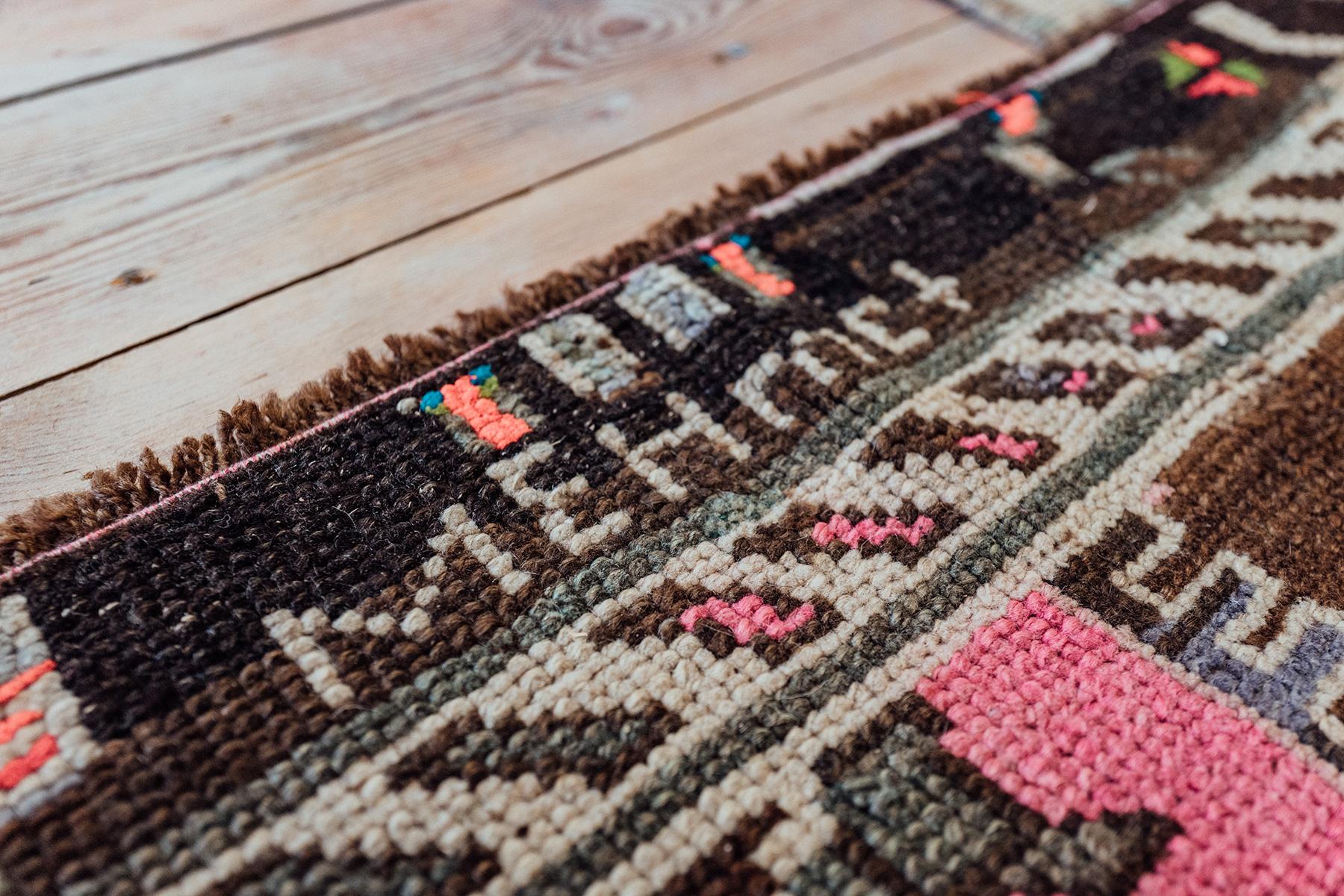 Jeder der On The Rugs Teppiche erzählt eine ganz eigene Geschichte.