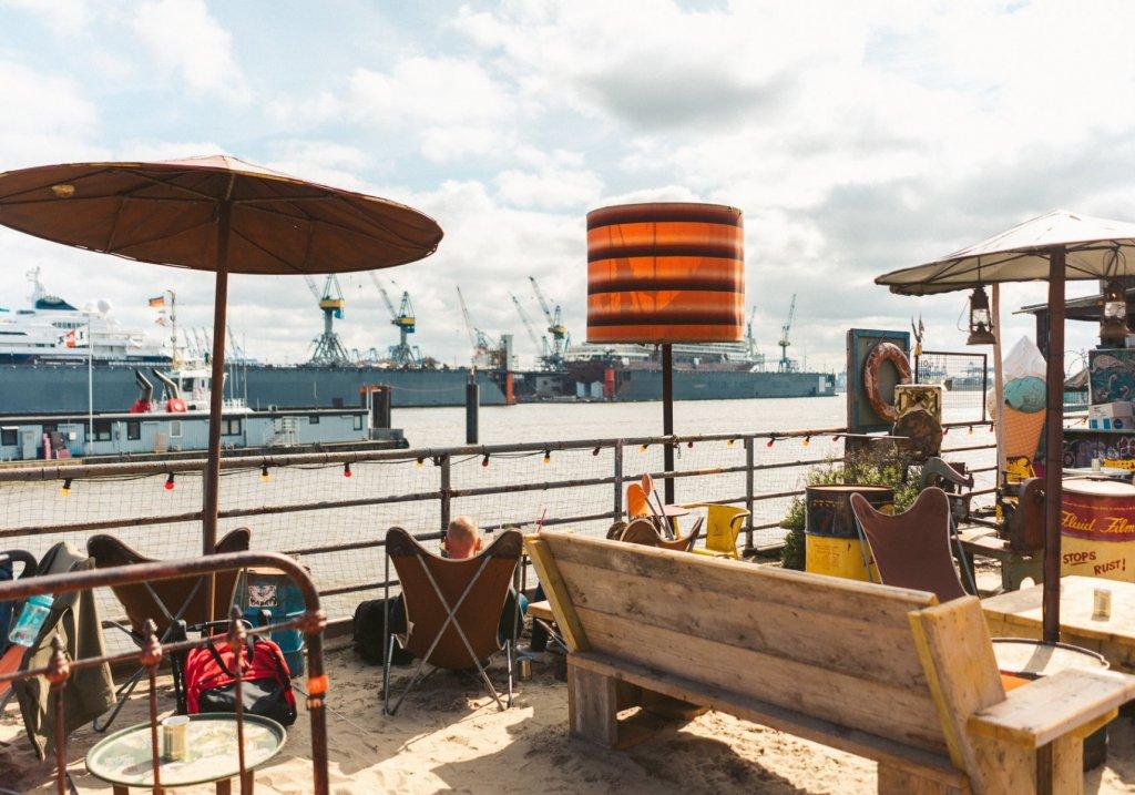 Geheimtipp Hamburg Essen & Trinken Beachclub Hamburg Strandpauli 2