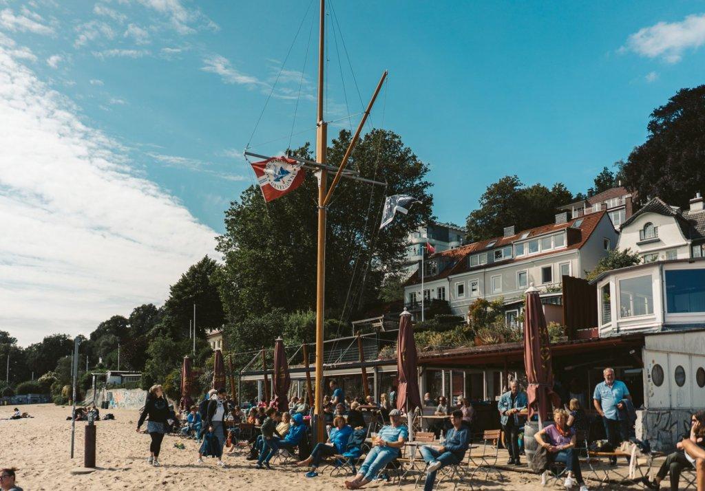 Geheimtipp Hamburg Essen & Trinken Beachclub Hamburg Strandperle 1