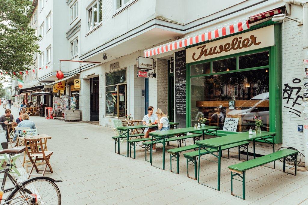 Geheimtipp Hamburg Essen & Trinken Café Bar Restaurant Limos Juwelier 3