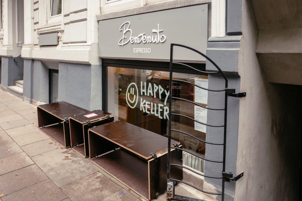 Geheimtipp Hamburg Grindelviertel Café Benvenuto Espresso Dahlina Sophie Kock 45